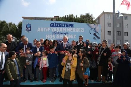 Eyüpsultan Belediye Başkanı Remzi Aydın, Aktif Yaşam Merkezi, kütüphane