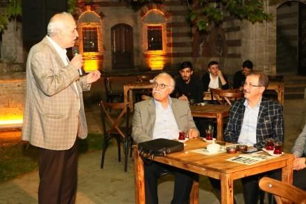 Zal Mahmut Paşa Külliyesi, Kültür Sohbetleri, Bestami Yazgan, Eyüpsultan Belediye Başkanı Deniz Köken