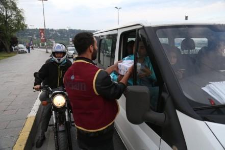 trafik, Eyüpsultan Belediyesi, Eyüpsultan Belediye Başkanı Deniz Köken, iftariyelik