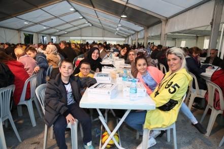 Eyüpsultan Belediyesi, Ebussuud İmam Hatip Ortaokulu, iftar çadırı