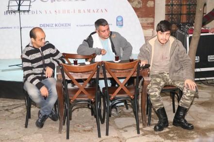Eyüpsultan Belediyesi, ramazan, Engelsiz Sanat Birliği Derneği, Ankara Yön Sanat Akademisi,Filistin Dava
