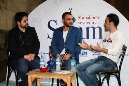 Ramazan Söyleşileri, Orhan Özekinci, Kaan Murat Yanık, Eyüpsultan Belediye Başkanı Deniz Köken