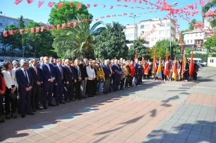 19 Mayıs Atatürk'ü Anma Gençlik ve Spor Bayramı, Eyüpsultan, tören, Eyüpsultan Belediye Başkanı Deniz Köken
