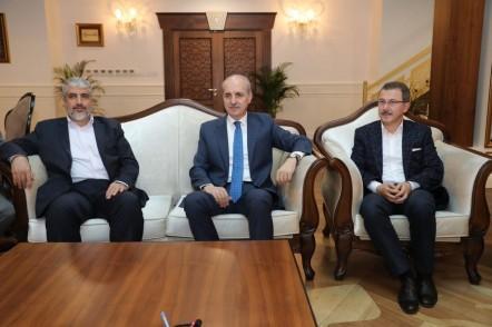 AK Parti Genel Başkanvekili Numan Kurtulmuş, Hamas, Halid Meşal, Eyüpsultan Belediye Başkanı Deniz Köken