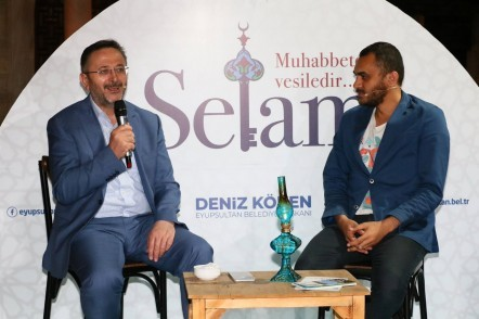 Eyüpsultan Belediyesi, Zal Mahmut Paşa Külliyesi, İl Kültür ve Turizm Müdürü Dr. Coşkun Yılmaz