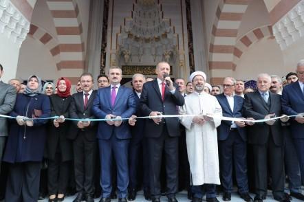 Cumhurbaşkanı Recep Tayyip Erdoğan, Hacı Osman Torun Camii, Eyüpsultan Belediye Başkanı Deniz Köken