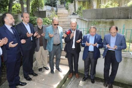 Şair, yazar Necip Fazıl Kısakürek, Eyüpsultan Belediyesi, Eyüpsultan Belediye Başkanı Deniz Köken