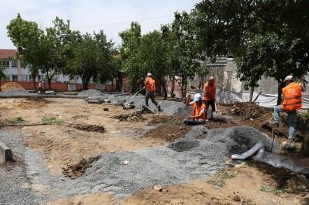 Çırçır Mahallesi, Eyüpsultan Belediyesi, Burkulan Sokak, park