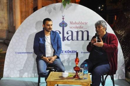 Eyüpsultan Belediyesi,  Zal Mahmut Paşa Külliyesi, kültür edebiyat söyleşileri, Mesut Uçakan
