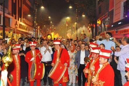 İstanbul, Fetih, Eyüpsultan, Fetih Yürüyüşü, Eyüpsultan Belediye Başkanı Deniz Köken