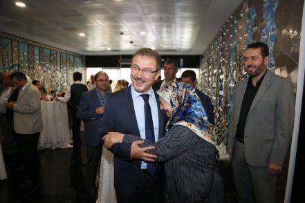 Eyüpsultan Belediye Başkanı Deniz Köken, bayramlaşma, Eyüpsultan Belediyesi, bayram, ramazan