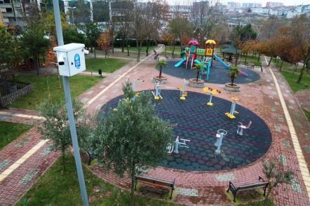 Eyüpsultan Belediyesi, park, mobese, kamera, güvenlik