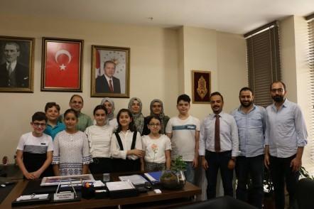 Eyüpsultan Belediyesi Çocuk Meclisi üyeleri, Eyüpsultan Belediye Başkan Yardımcıları, ziyaret
