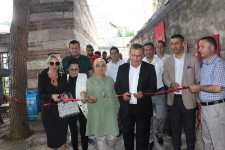 Eyüpsultan Belediyesi, Caferpaşa Medresesi Kültür Sanat Merkezi, Kırmızı Kudüs, sergi