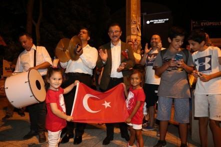 30 Ağustos Zafer Bayramı, yıl dönümü, Eyüpsultan Belediyesi, kortej, bando