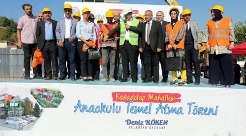 Eyüpsultan Belediye Başkanı Deniz Köken, sosyal belediyecilik, anaokulu, Eyüpsultan Belediyesi