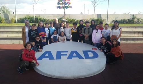 Çocuk Meclisi, AFAD
