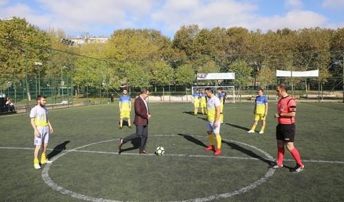 Eyüpsultan Belediyesi Birimler Arası Futbol Turnuvası Başladı