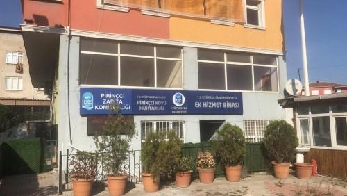 Eyüpsultan Belediyesi Mali Hizmetler Müdürlüğü, Pirinççi Mahallesi, Pirinççi Ek Hizmet Binası