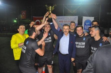 Eyüpsultan Belediyesi, Birimlerarası Futbol Turnuvası, şampiyon