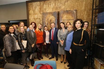Eyüpsultan Belediye Başkanı Deniz Köken, Göktürk Kültür Merkezi, girişimci kadınlar