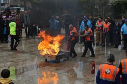 Eyüpsultan Belediyesi, Sivil Savunma Amirliği ve İş Güvenliği Birimi, Acil Durum Tahliye Tatbikatı