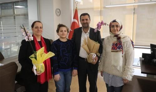 Çocuk Meclisi'nden 10 Ocak Çalışan Gazeteciler Günü Kutlama Ziyareti