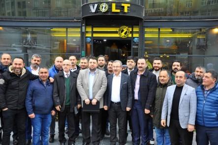 Eyüpsultan Belediye Başkanı Deniz Köken, esnaf, Cengiz Topel