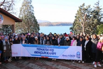 Eyüpsultan Belediyesi, sömestr tatili, 21-26 Ocak 2020, Kocaeli Kefken, kış kampı