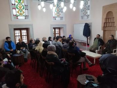 Eyüpsultan Belediyesi,  Zal Mahmut Paşa Külliyesi, Kitap Sanatları Merkezi, söyleşi, sohbet, İki Çay Biri Açık