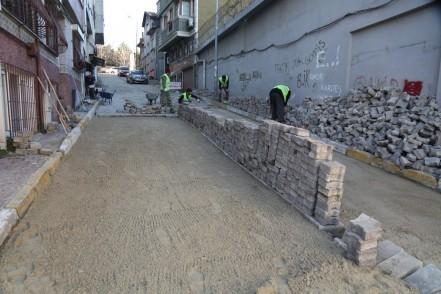Eyüpsultan Belediyesi Fen İşleri Müdürlüğü, asfaltlama, kilittaşı yenileme, bakım-onarım