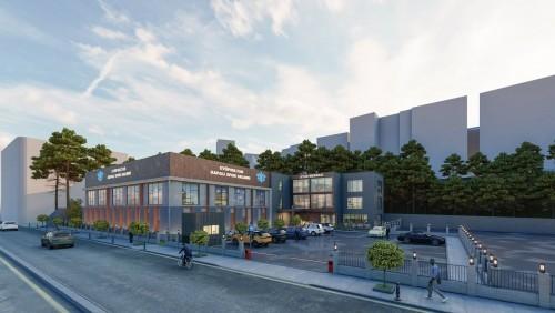 Eyüpsultan Belediye Başkanı Deniz Köken, proje, Spor Salonu ve Etüd Merkezi