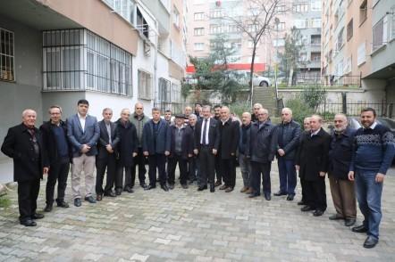 Eyüpsultan Belediye Başkanı Deniz Köken, Akşemsettin Mahallesi, Ülker Sitesi