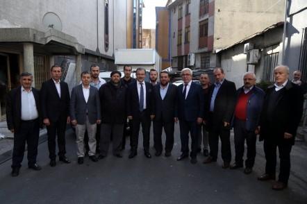 Başkan Deniz Köken MODESA Esnafıyla Toplantı Yaptı