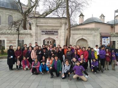 Genç Mihmandarlar Eyüpsultan'ı Geziyor!