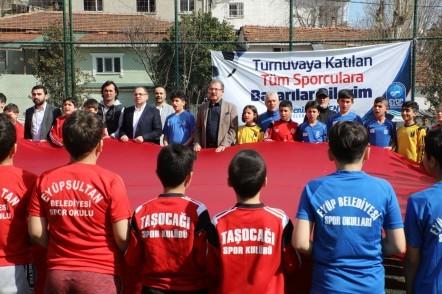 Bilgi Evleri Arası Futbol Turnuvası Başladı