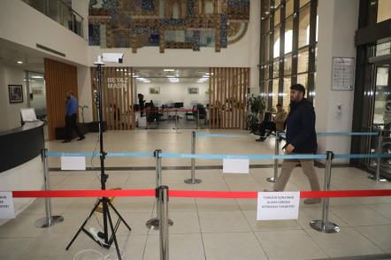 Eyüpsultan Belediyesi'nde Virüse Karşı Teknik Tedbirler Alındı