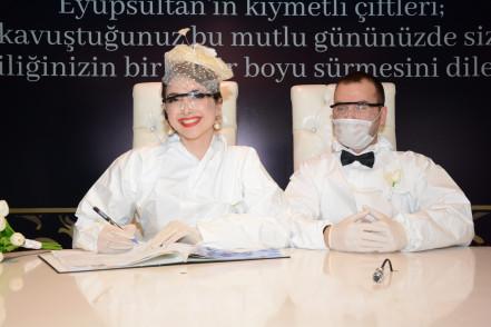 Korona Günlerinde Eyüpsultan'da Bir Güzel Nikah