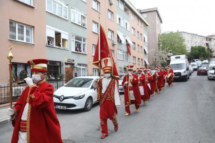 Karadolap ve Akşemsettin'de Mehter Konseri