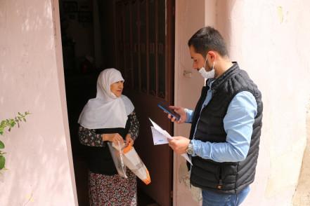 Eyüpsultan Belediyesi Hizmeti Vatandaşın Evine Götürüyor