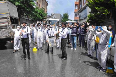 Bayram Öncesi Gaziosmanpaşa Belediyesi ile Ortak Temizlik Çalışması Yaptık