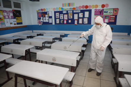 LGS Öncesi Okullarda Hijyen Çalışması