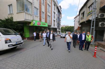 Yaz Kampanyası Kapsamında Çalışmalar Emniyettepe Mahallesi'yle Devam Etti
