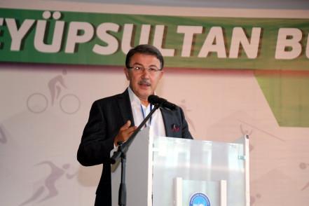 Eyüpsultan'da spor çalıştayı düzenlendi