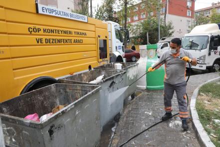 Karadolap'ta sokak sokak temizlik çalışması
