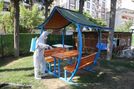 Temizlik çalışmaları Alibeyköy'de devam etti