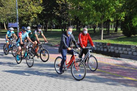 Avrupa Hareketlilik Haftası etkinlikleri bisiklet turuyla son buldu