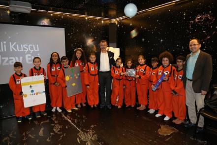 """Ali Kuşçu Uzay Evi'nden """"Okullara Yönelik Çevrimiçi Eğitimler"""""""