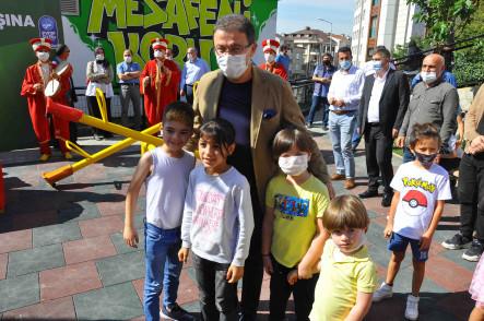 Çırçır Mahallesi Betül Sokak Parkı Hizmete Açıldı