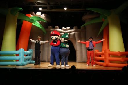 """Eyüpsultanlı Çocuklar """"Süper Mario"""" İle Buluştu"""